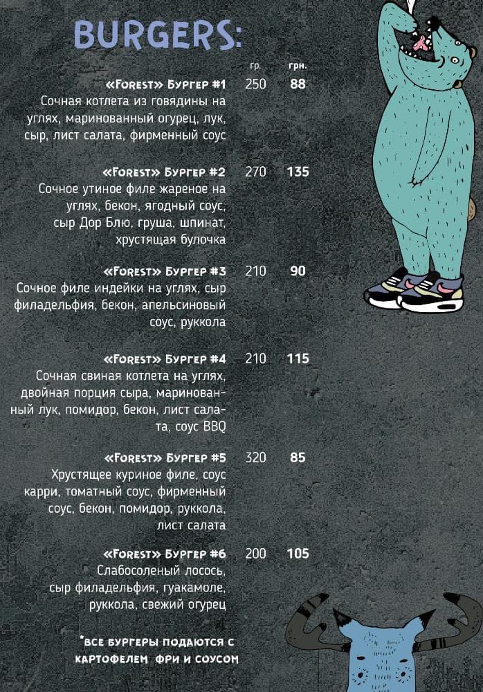 Бургер меню Крыша
