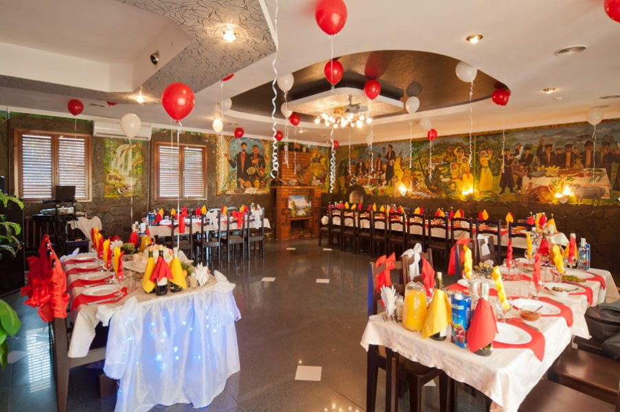 Кафе Арагви банкетный зал