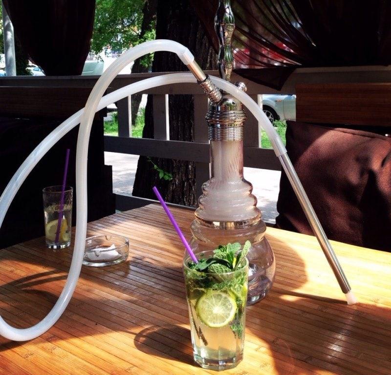 Кальян в кафе Зеркала