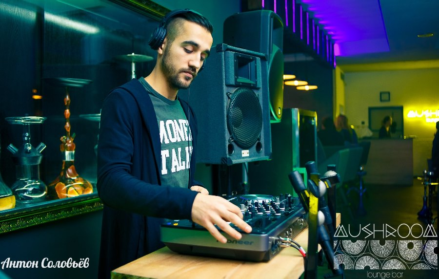 DJ вечеринки Mushroom