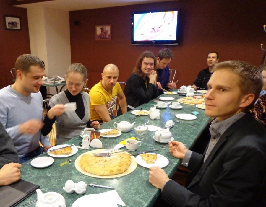Осетинские пироги у Зарины