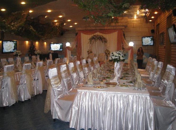 Свадьба в ресторане Кабачок на бочок