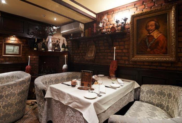 Ресторан Ришелье обзор