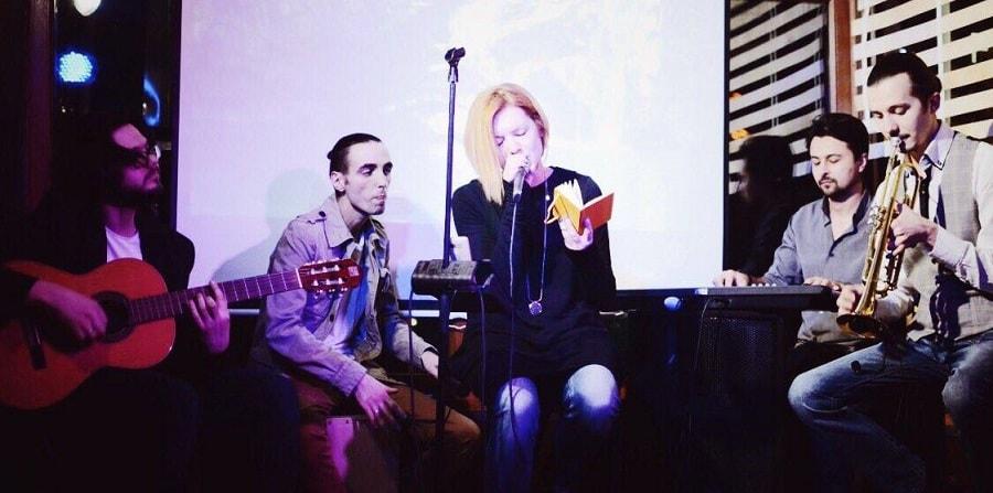 Концерт в кафе Фанера