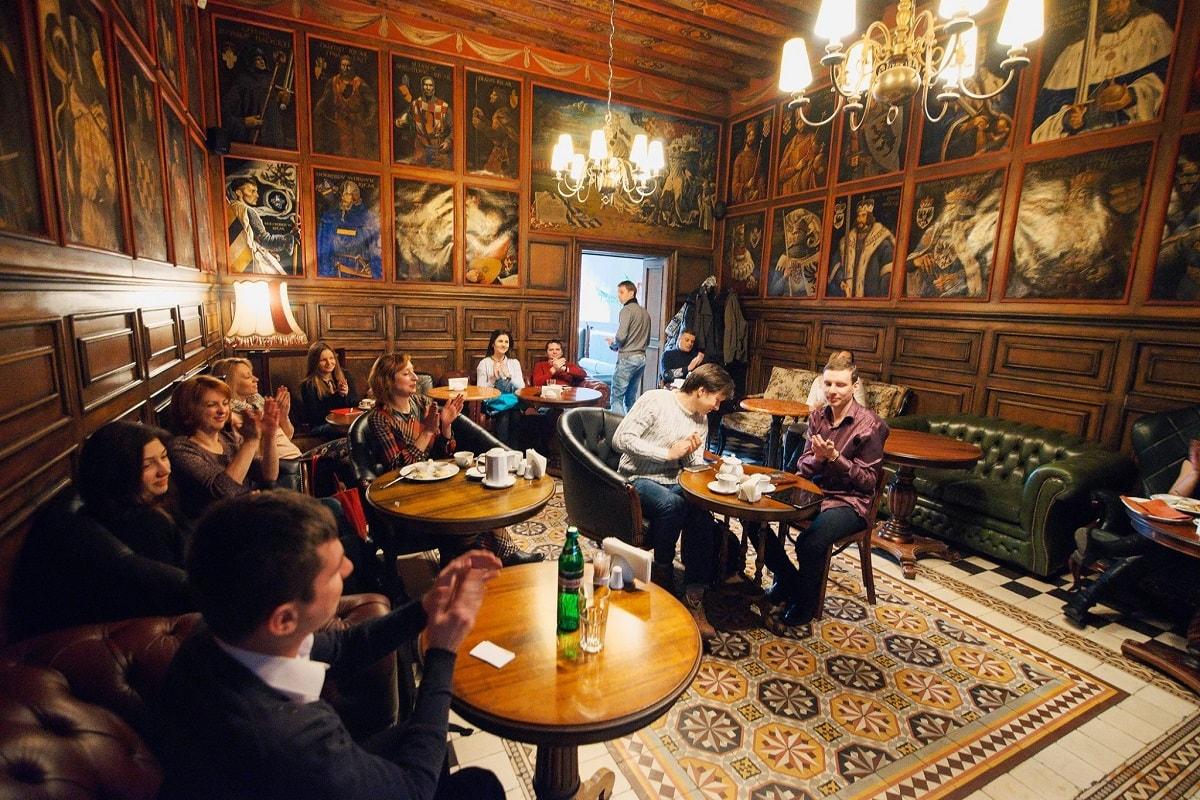 Lviv Atlas cafe