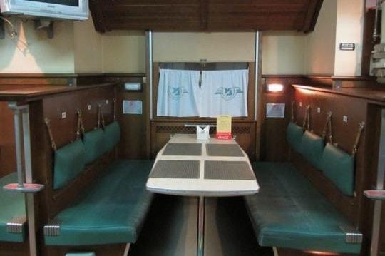 34 Скорый - бар поезд