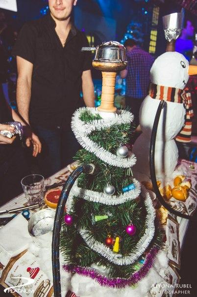 новый год в Hookah Club
