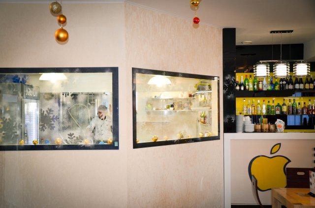 Кухня в Jobs Cafe