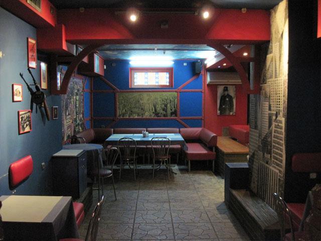New york city Гангста кафе
