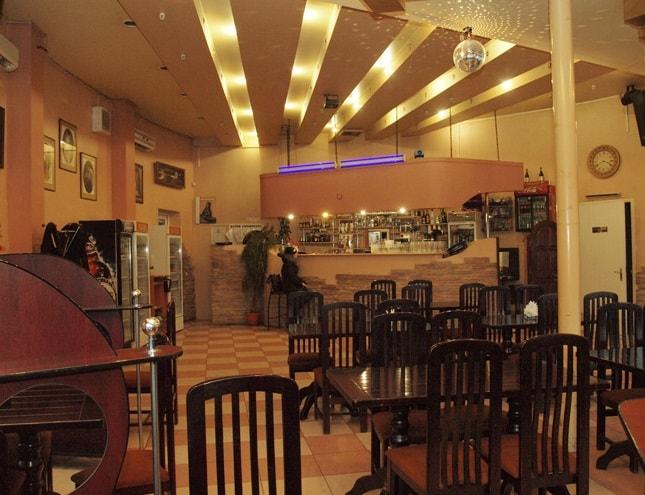 Интерьер в кафе Подкова