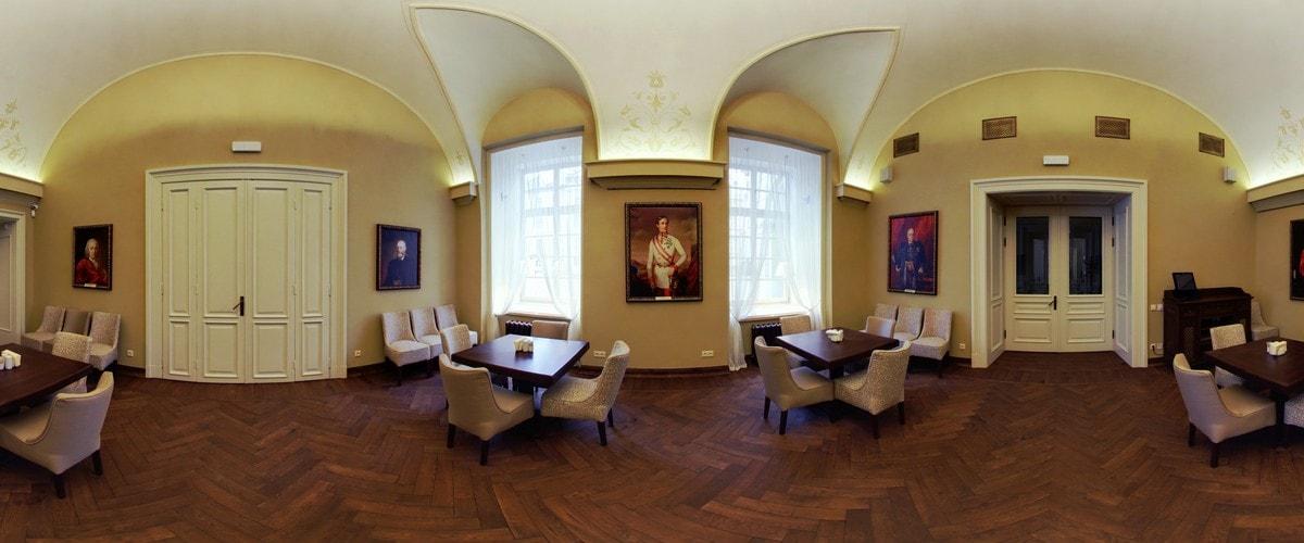 Зал президентов в кафе Ратуша