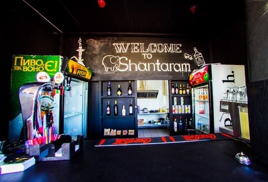 hookah bar Shantaram