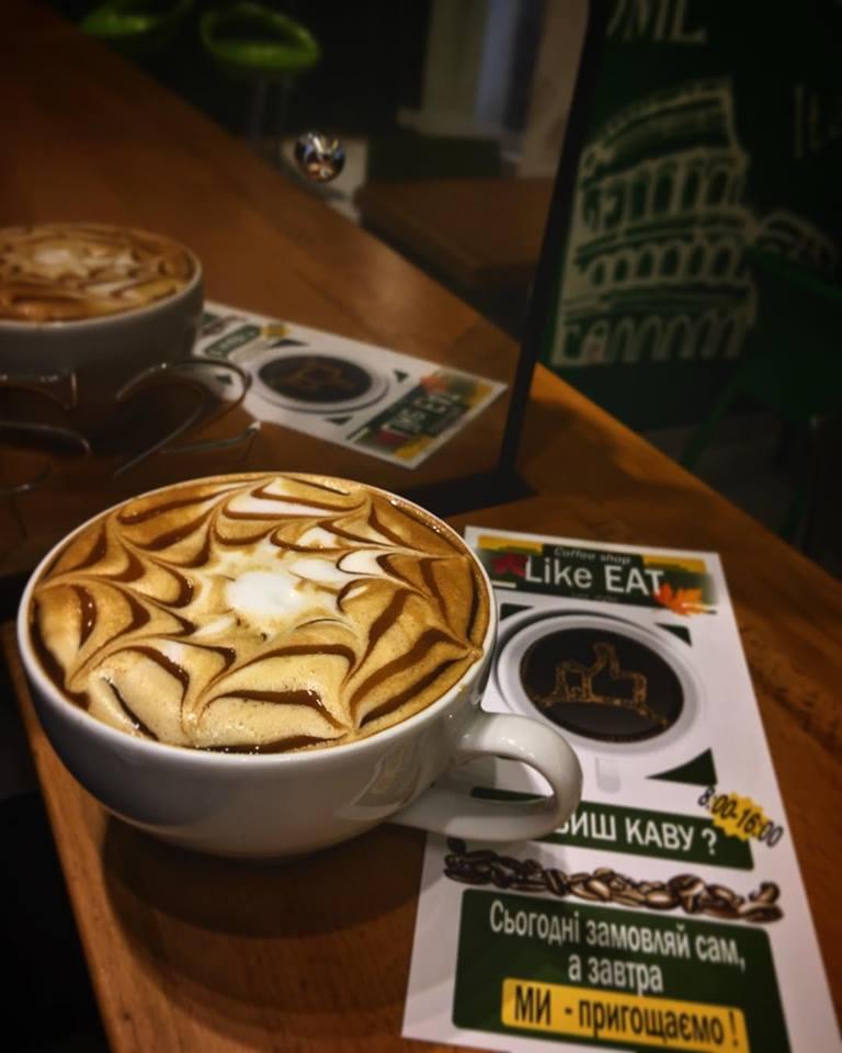 Кофе в Like EAT
