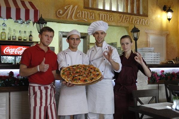 Мама Мія італійська піццерія у Львові