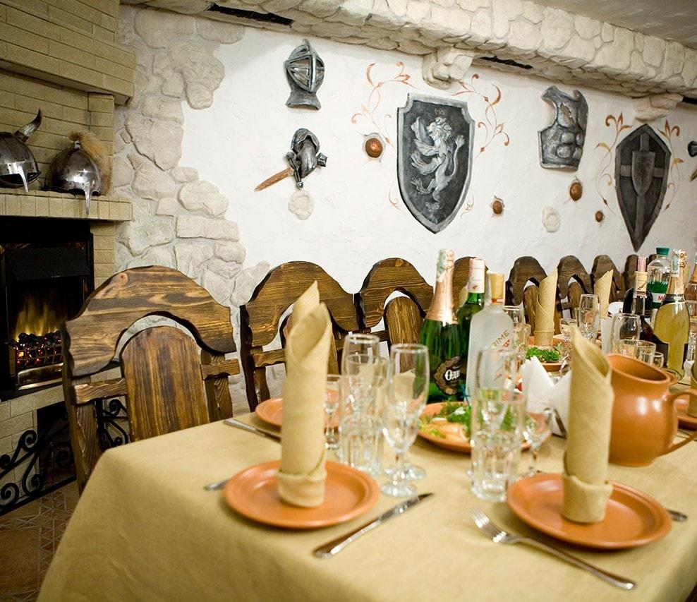 Sir Lancelot рыцарский зал