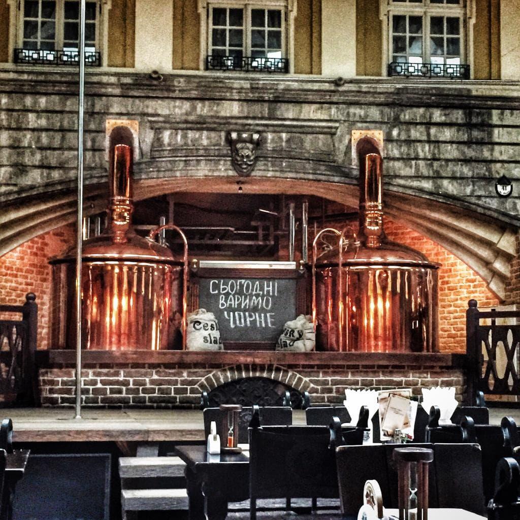 Старгород пивоварня Львов